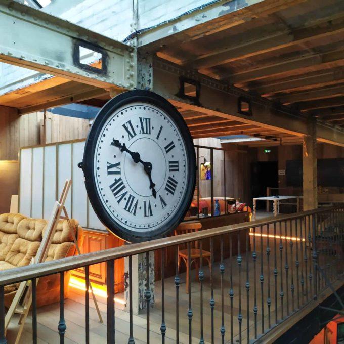 horloge d'usine