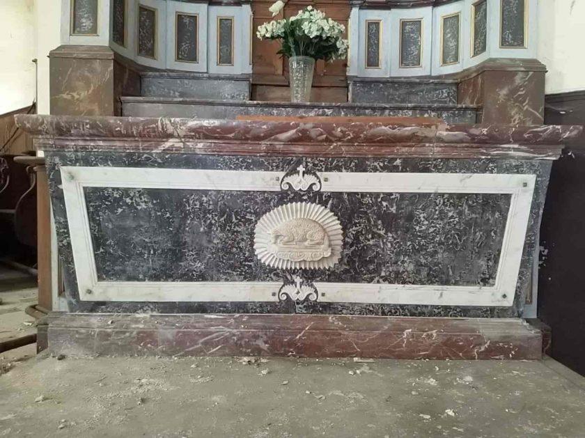 holy menehould altar