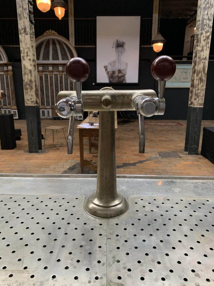 pompe bar étamé