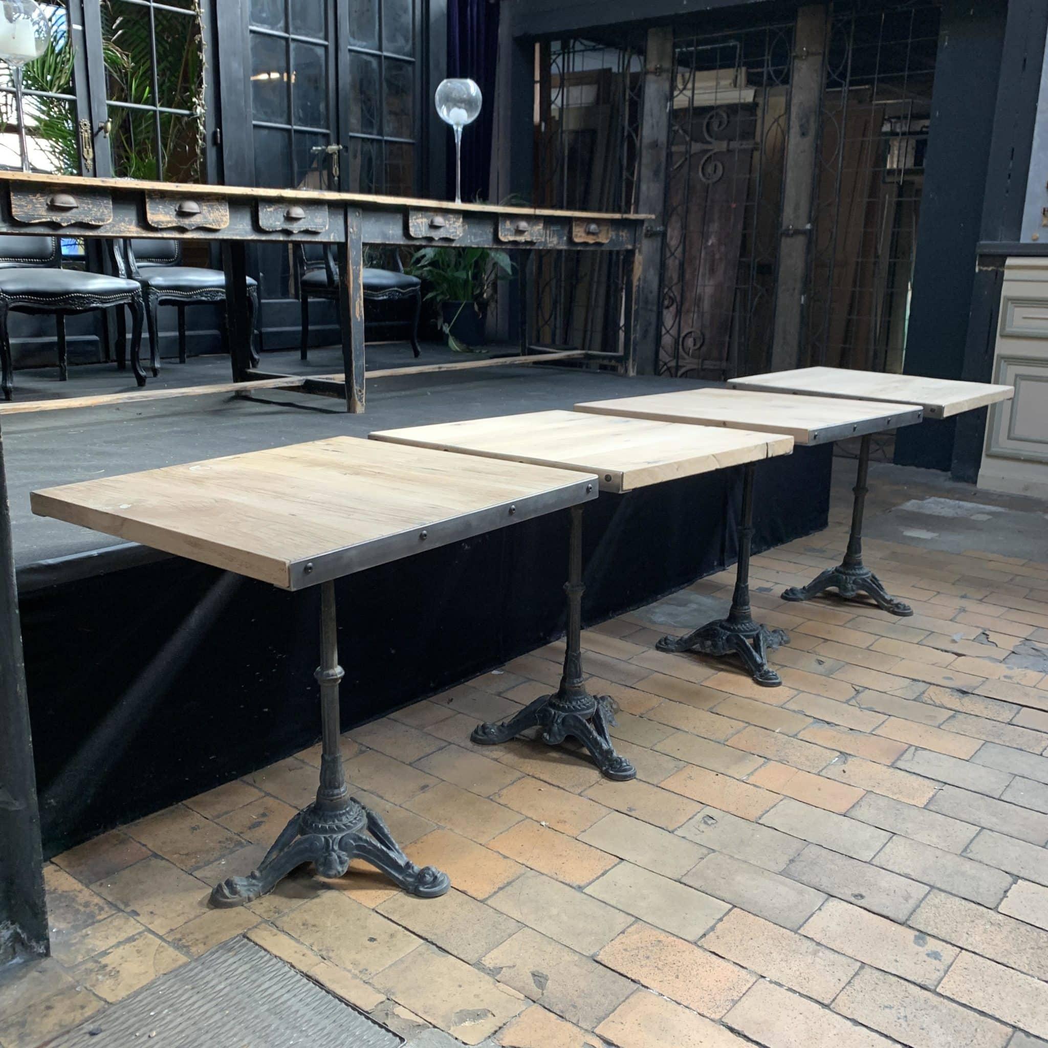 Table bistrot fond de wagon