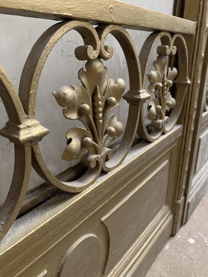 Double porte en bronze