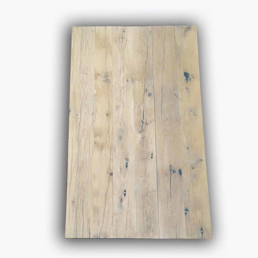 Plateau fond de wagon patine bois net