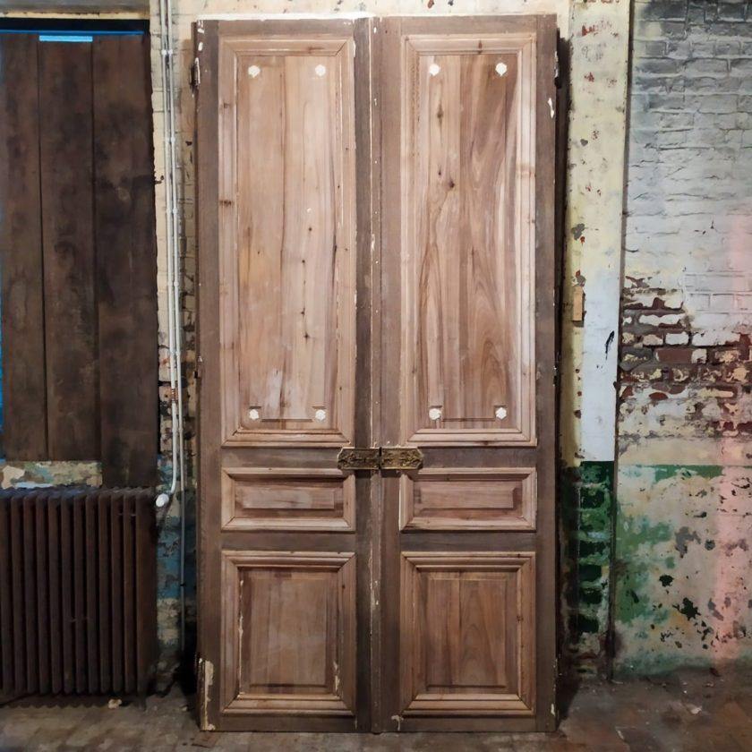 Double porte ancienne Haussmann