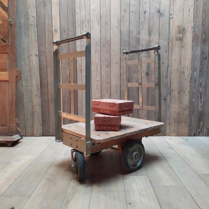 ancien chariot à lingot banque de france
