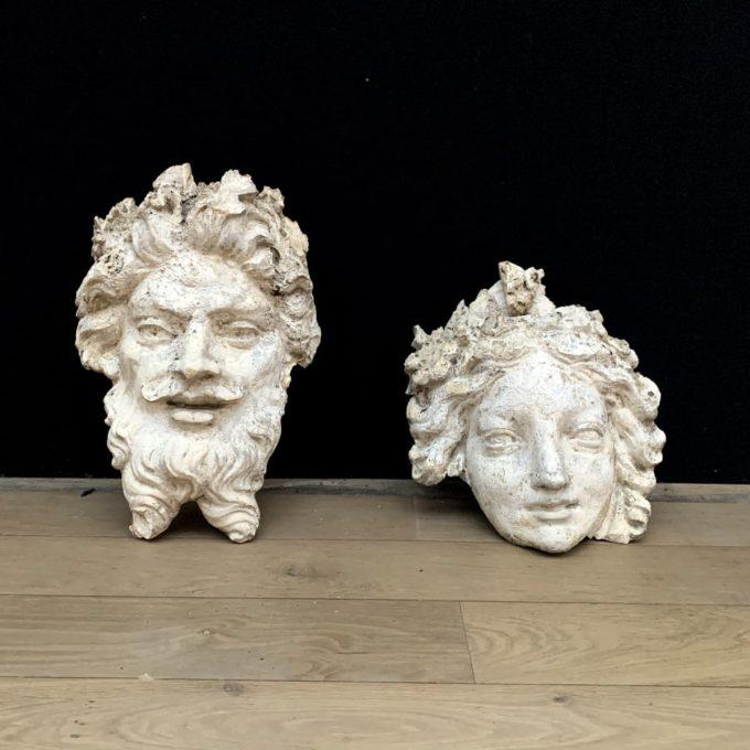 visages mythiques