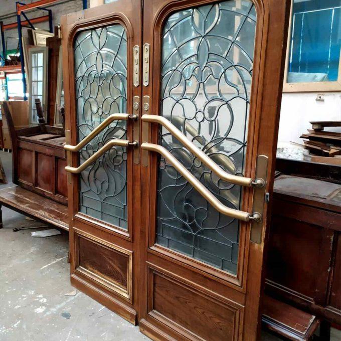 double porte vitree