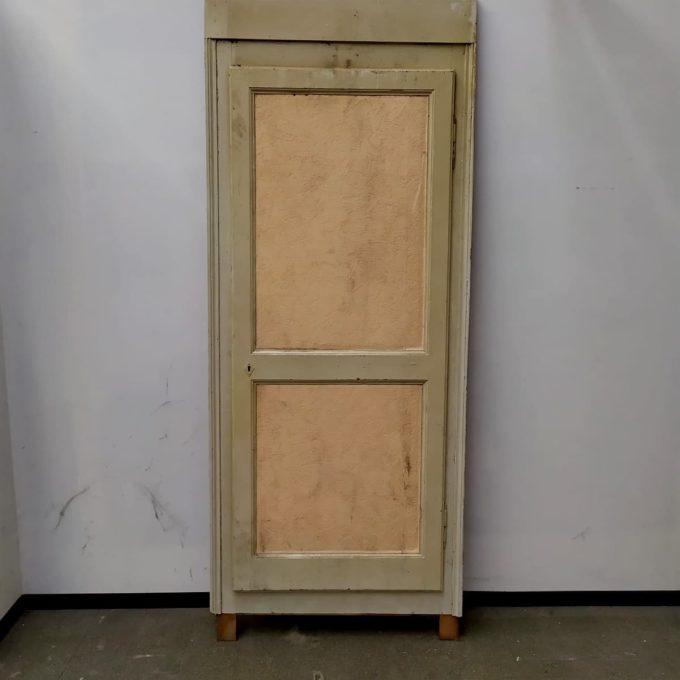 Porte de placard ancienne, 78*189cm.
