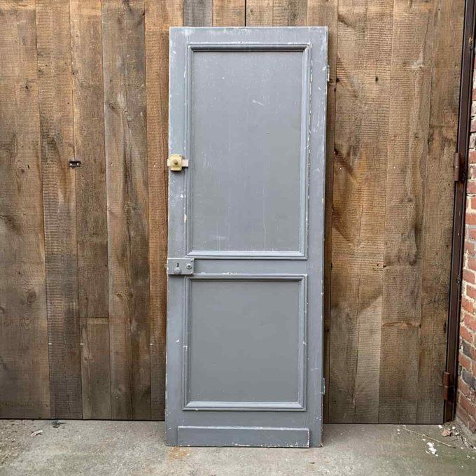 Porte de séparation ancienne, 83x220cm.