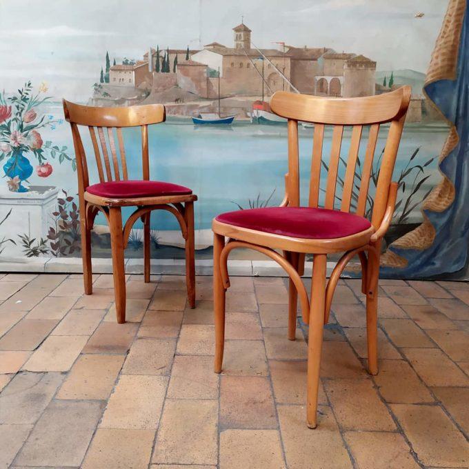 chaise bistrot bdf