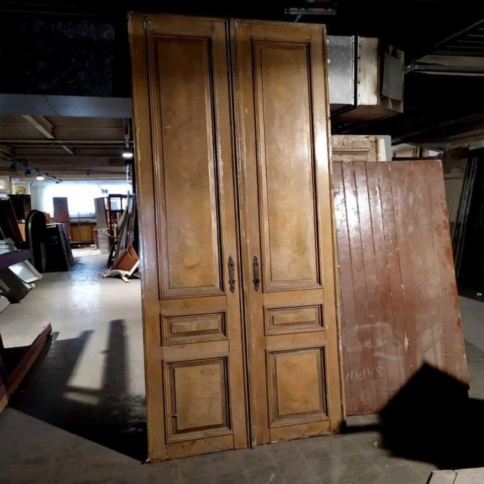 double porte ancienne