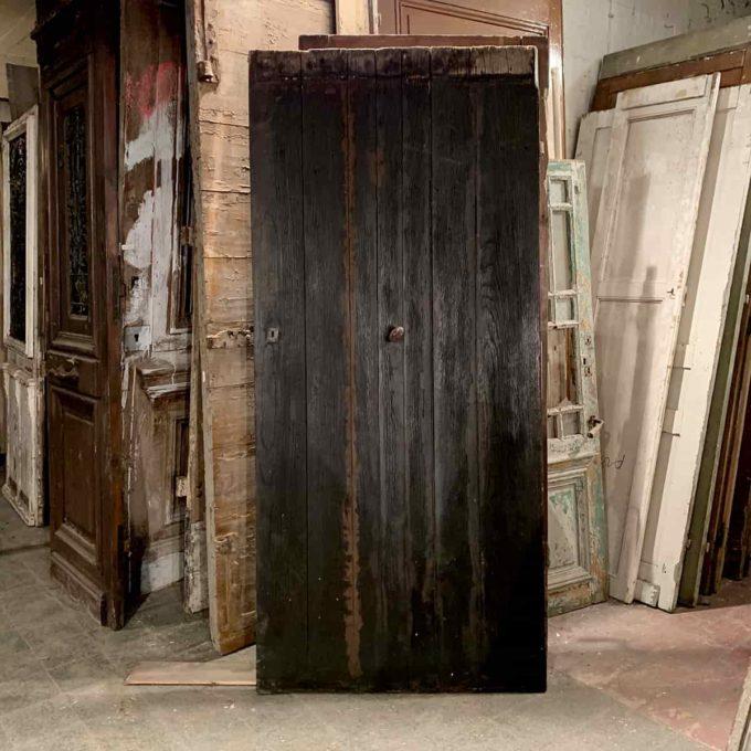 Porte d'entrée, 216x96.5cm.