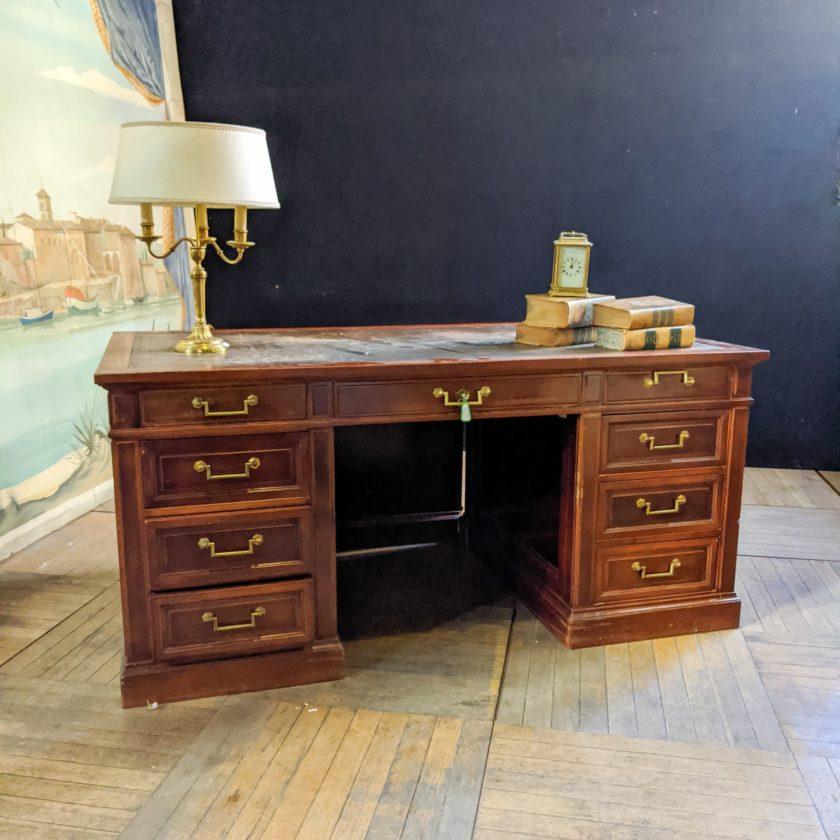 Mahogany minister's desk