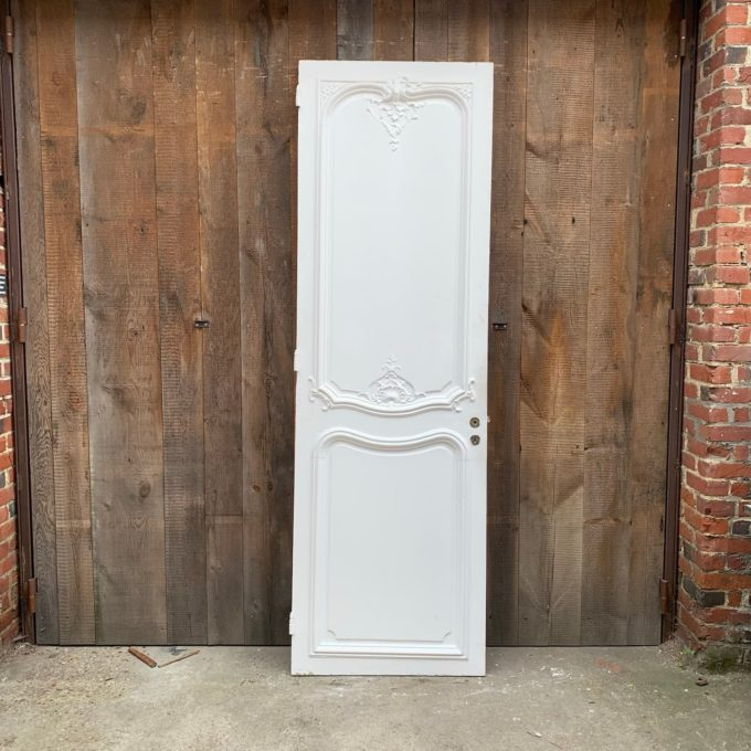 Porte simple style Louis XV