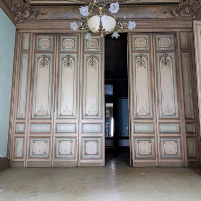 ensemble de portes