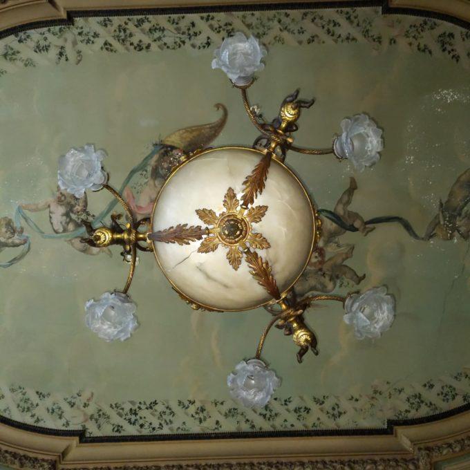 lustre ancien Napoléon III details