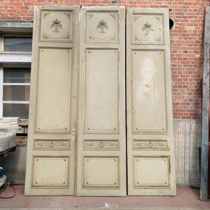 portes de séparation face