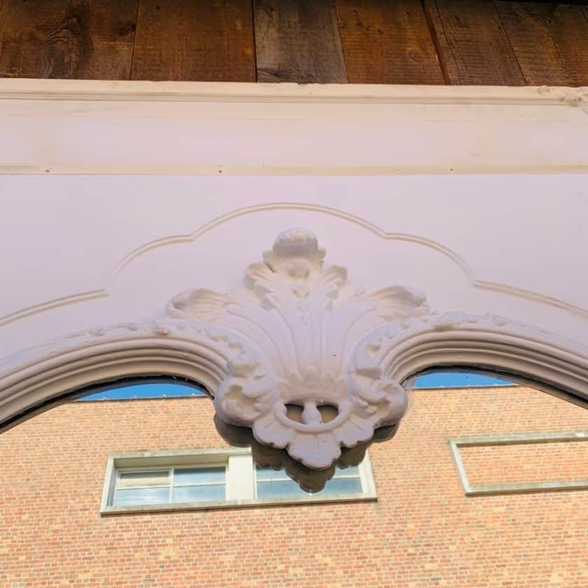 Louis XV style trumeau details 1